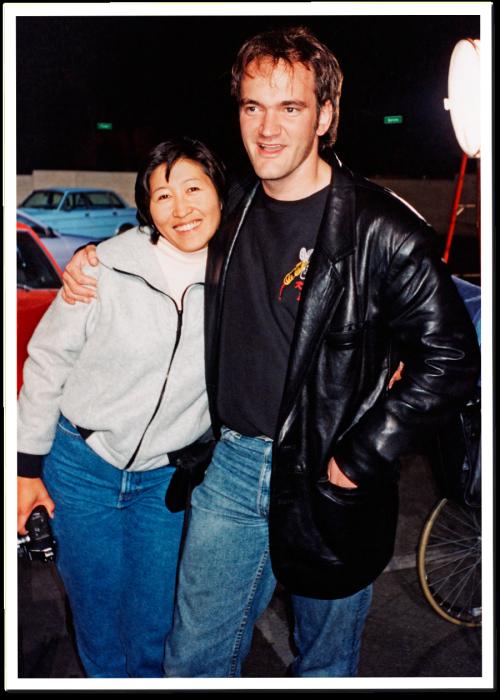 Linda Chen and Quentin Tarantino