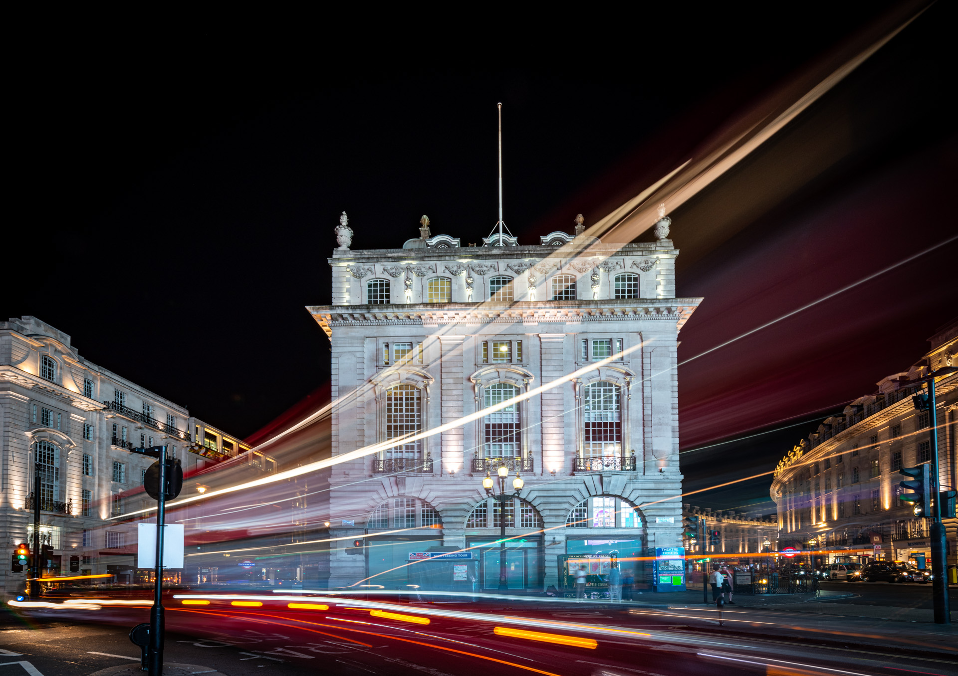 Piccadilly Circus, Bill Ward
