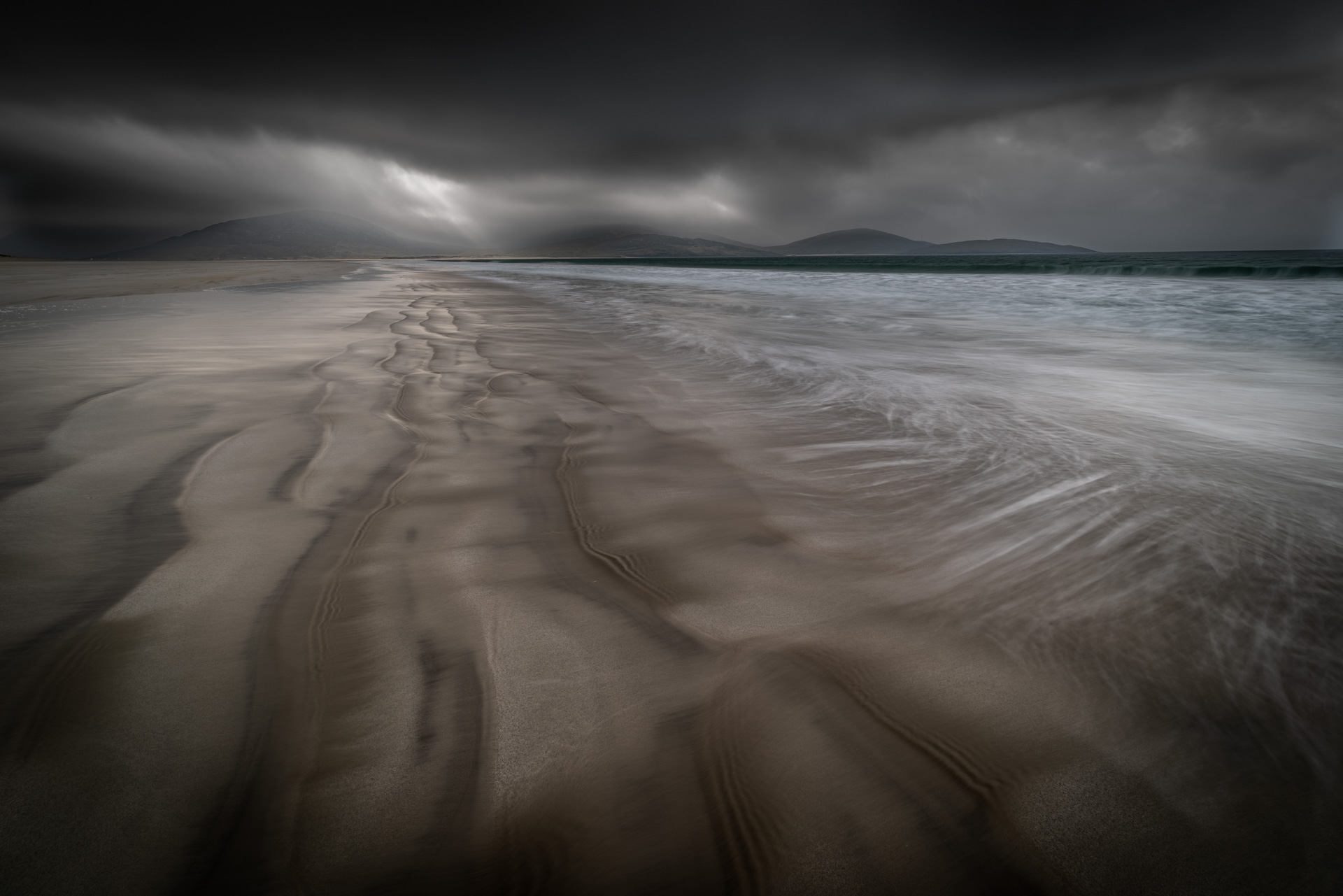 Storm, Luskentyre, Bill Ward